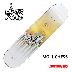 ROOTS MO-1 CHESS 7.375 x 30.625 【ルーツスケートボード フリースタイル デッキ】【日本正規品】