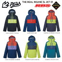REW 21-22 THE INSANE 3LAYER ジャケット GORE-TEX ゴアテックス 3レイヤー 【スノーボード ウェア 2020 2021 インセ…