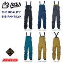 REW 21-22 REALITY BIB パンツ GORE-TEX ゴアテックス 【スノーボード ウェア 2021 2022 】【リアリティー ビブパンツ…