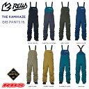 REW 21-22 THE KAMIKAZE BIB PANTS カミカゼ ビブ パンツ GORE-TEX ゴアテックス スノーボード ウェア 【送料無料 日…