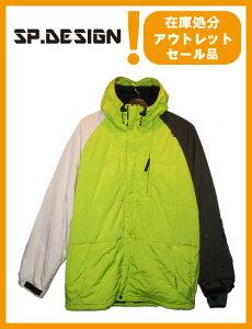 SP DESIGN SP ジャケット カラー R-GREEN×BROWN 【エスピーデザイン】【スノーボード ウェア】