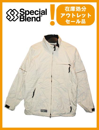 SPECIAL BLEND GUARDIAN JACKET カラー WHITE 【スペシャルブレンド ジャケット】【スノーボード ウェア】