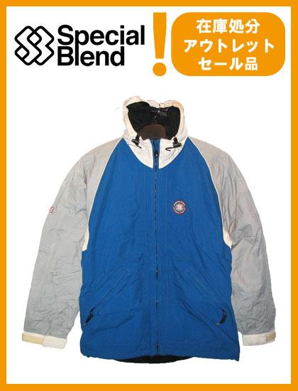 SPECIAL BLEND COMPASS HOODED PIPING JACKET カラー BLUE 【スペシャルブレンド ジャケット】【スノーボード ウェア】