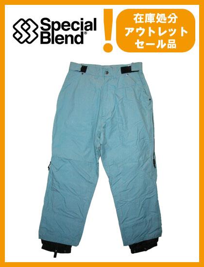 SPECIAL BLEND TRIUMPH PANTS カラー BLUE 【スペシャルブレンド パンツ】【スノーボード ウェア】