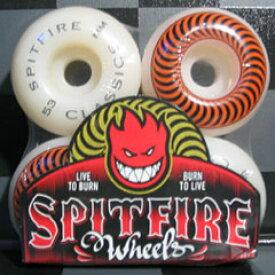 SPIT FIRE WHEELS 【スピットファイヤー ウィール】CLASSICS 53mm ORANGE 【スケートボード ウィール】【スピットファイア 日本正規品】