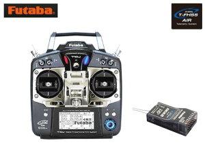 8435 【FUTABA/フタバ/双葉電子工業】 10J 飛行機用 送信機・R3008SB受信機セット Mode1(T-FHSS AIR)
