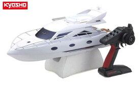 !【KYOSHO/京商】 40133 電動RC ボート レディセット EPマジェスティ600(シンクロKT-231P+付)完成品 ≪ラジコン≫