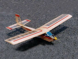 ! 【ムサシノ模型飛行機研究所】 00002 プレイリー号L エルロンバージョン [RC飛行機 バルサ製組立キット] (未組立) ≪ラジコン≫