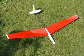 ! 【ムサシノ模型飛行機研究所】 00034 ホリディα(アルファ) SALグライダー (フルプランク翼タイプ) [RCグライダー 組立キット] (未組立) ≪ラジコン≫