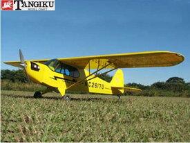 ! 【丹菊モデルクラフト/テトラ】 00241 パイパー J3 カブ・4C-90 PJ-4C-90 [RC飛行機 バルサ製組立キット] (未組立) ≪ラジコン≫