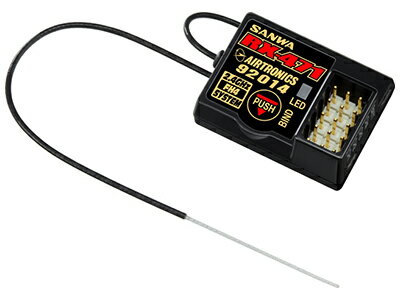 107A41111A 【SANWA/サンワ/三和電子機器】 RX-471 2.4GHz 4ch FHSS4/FHSS3 受信機