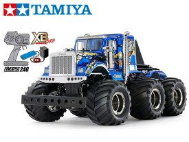 !【TAMIYA/タミヤ】 57905 1/18 電動RC 完成セット XB コングヘッド6x6 (G6-01シャーシ) ≪ラジコン≫