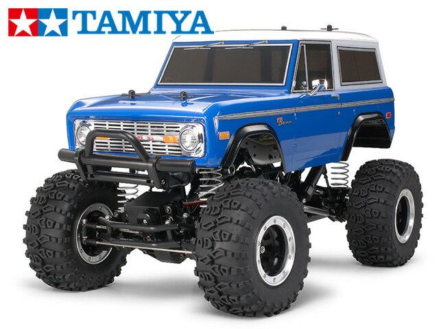 !【タミヤ】 58436 フォード ブロンコ 1973(CR-01シャーシ) 組立キット+45053 ファインスペック電動RCドライブセット
