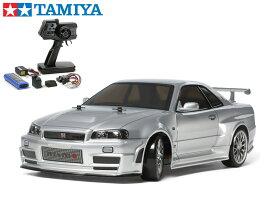 !【TAMIYA/タミヤ】 58605 1/10 電動RC ニスモ R34 GT-R Z-tune (TT-02Dシャーシ) ドリフトスペック 組立キット+45053 ファインスペック電動RCドライブセット(未組立) ≪ラジコン≫