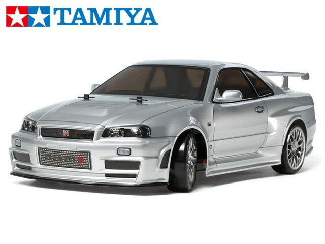!【タミヤ】 58605 ニスモ R34 GT-R Z-tune (TT-02Dシャーシ) ドリフトスペック 組立キット+45053 ファインスペック電動RCドライブセット