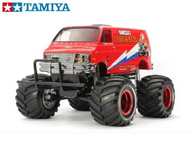 !【TAMIYA/タミヤ】 47402 1/12 電動RC ランチボックス レッドエディション 組立キット+45053 ファインスペック電動RCドライブセット(未組立) ≪ラジコン≫