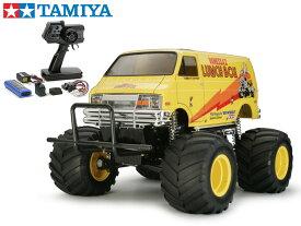 !【TAMIYA/タミヤ】 58347 1/12 電動RC ランチボックス(2005)組立キット+45053 ファインスペック電動RCドライブセット+チャンプオリジナル:フルボールベアリング(未組立) ≪ラジコン≫