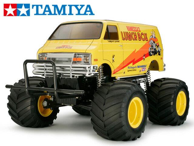!【タミヤ】 58347 ランチボックス(2005)組立キット+チャンプオリジナル:フルボールベアリング