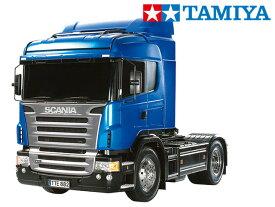 !【TAMIYA/タミヤ】 56317 1/14 電動RC ビッグトラック スカニア R470 ハイライン フルオペレーションセット+チャンプオリジナル:フルボールベアリング(未組立) ≪ラジコン≫