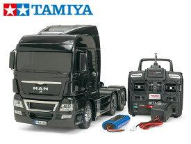 !【TAMIYA/タミヤ】 56324 1/14 電動RC ビッグトラック MAN TGX 26. 540 6×4 XLX フルオペレーションセット+チャンプオリジナル:フルボールベアリング(未組立) ≪ラジコン≫