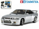 !【TAMIYA/タミヤ】 58604 1/10 電動RC NISSAN スカイライン GT-R (R33)(TT-02Dシャーシ) ドリフトスペック ・…