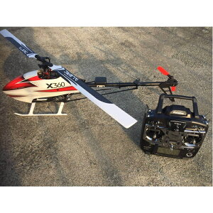 X360H1GPS GPS付電動ヘリコプター T10J送信機付完成機 6セル用