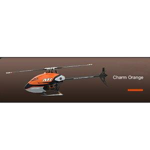 OMPHOBBY M1 EXP小型電動ヘリコプターオレンジ