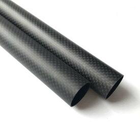 3Kカーボンパイプ 高強度平織艶消し外径25mm内径23mm CPF2523RC