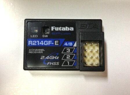 【基本送料無料】フタバ R214GF-E 2.4G受信機(4ch/FHSS) 4YWD2.4G 標準レシーバー【smtb-k】【w3】