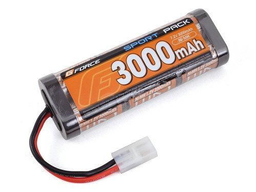 (数量限定特価)【ネコポス対応】G-FORCE(ジーフォース)/GE008/SPORT NiMH Battery 7.2V 3000mAh ニッケル水素バッテリー