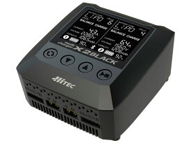 【基本送料無料】(数量限定特価)ハイテック(HiTEC)/44289/マルチチャージャー X2 ブラック バランサー内蔵・オールマイティ多機能充・放電器