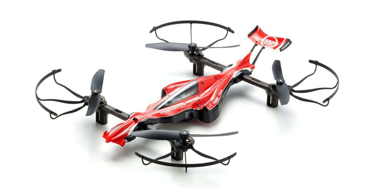 【基本送料無料】京商(KYOSHO)/20571R_20572Y/1/18 DRONE RACER G-ZERO(ドローンレーサー ジーゼロ)レディセット