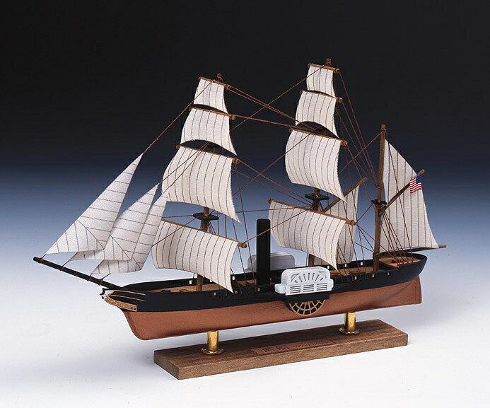【基本送料無料】ウッディジョー(Woody JOE)/ミニ帆船 黒船【smtb-k】【w3】