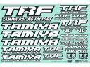 【ネコポス対応】42164/タミヤ/TRFステッカーC