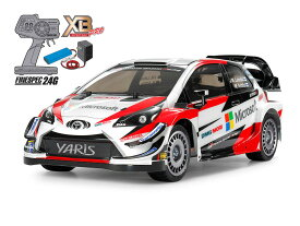 【基本送料無料】【ラジコン】タミヤ(TAMIYA)/57903/XB 1/10 トヨタ ガズー レーシング WRT/ヤリス WRC (TT-02シャーシ))(完成品)