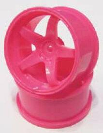 【ネコポス対応】TOP LINE(トップライン)/TDW-051PK/NモデルVer.2 ピンク オフセット5(ホイル幅28mm&3mmハブ対応)2個入