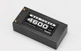 (期間限定特価)【ネコポス対応】YOKOMO(ヨコモ)/YB-V246B/ヨコモ Li-po 4600mAh/7.4V 100C ショートサイズバッテリー