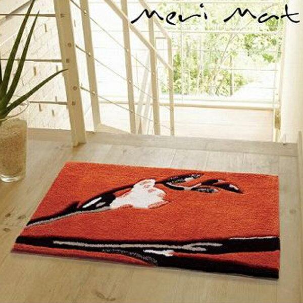 ラグ ラグマット 50X80 ART MUSIUM MERI MAT カーペット 絨毯 カワイイ オシャレ ホットカーペット対応 スミノエ(代引不可)【ポイント10倍】【送料無料】【smtb-f】