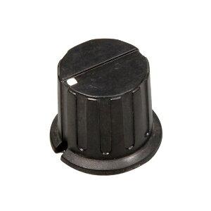ツマミ 24MM(6φ軸用)黒 技術 ロボット 技術電子工作