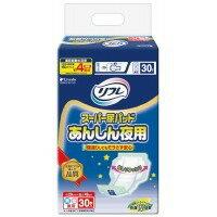 リフレ スーパー尿パッドあんしん夜用 30枚×6袋(代引き不可)【ポイント10倍】