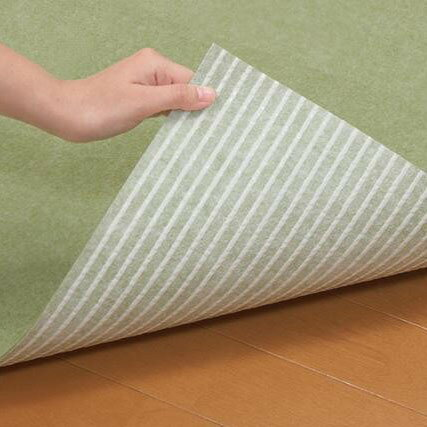 おくだけ吸着 キッチンマット 巾90×長さ180cm GR(グリーン)・KH-82【送料無料】【ポイント10倍】