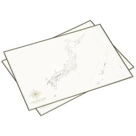 大人の白地図 カルトグラフィー ポスター・A3サイズ 日本 5枚入×3セット CG-A3J(代引き不可)