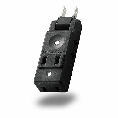 エレコム 小型タップ コンパクト 4個口 ブラック AVT-M01-24BK AVT-M01-24BK 家電(代引不可)【ポイント10倍】