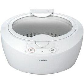 ツインバード 超音波洗浄機 ホワイト EC-4518W【ポイント10倍】