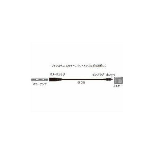 Audio-Technica オーディオテクニカ キャノン変換ケーブル (XLR-Mプラグ - ピンプラグ) 3m ATL415A/3.0 家電【ポイント10倍】【int_d11】