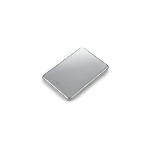 バッファロー HD-PUS1.0U3-SC ポータブルハードディスク 「Mini Station」 シルバー 1TB HD-PUS1.0U3SC【ポイント10倍】【送料無料】【smtb-f】
