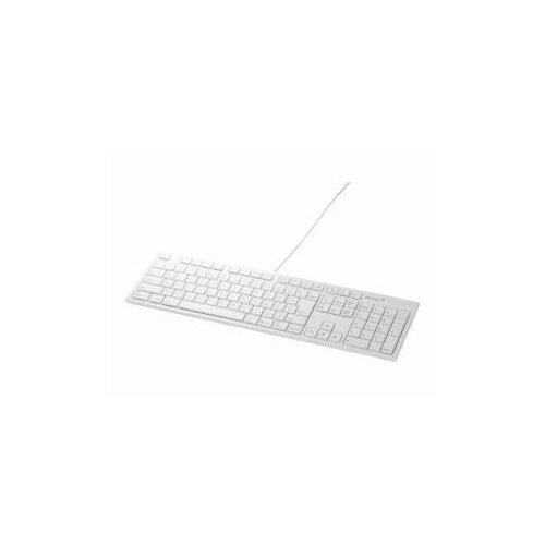 BUFFALO バッファロー i-BUFFALO USB接続 有線キーボード Macモデル BSKBM01WHWH BSKBM01WH パソコン BUFFALO【ポイント10倍】