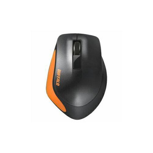 BUFFALO バッファロー BSMBW300MOR Premium Fitマウス無線/BlueLED光学式/静音/3ボタン/Mサイズ オレンジ BSMBW300MOR【ポイント10倍】