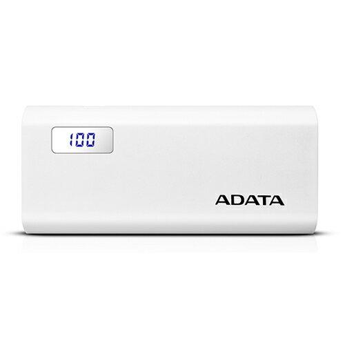 ADATA P12500D パワーバンク 12500mAh ホワイト AP12500D-DGT-5V-CWH(代引不可)【ポイント10倍】