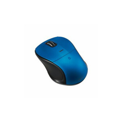 ナカバヤシ Bluetooth 静音3ボタンBlue LEDマウス ブルー MUS-BKT111BL(代引不可)【ポイント10倍】【送料無料】